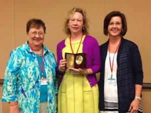 Dr. Pam Henson with Alabama ASCD Board Members Nancy Cotter and Dr. Lisa Beckham