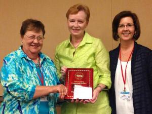 Dr. Pamela Henson with Alabama ASCD Board Members Nancy Cotter and Dr. Lisa Beckham